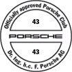 Officially approved Porsche Club 43